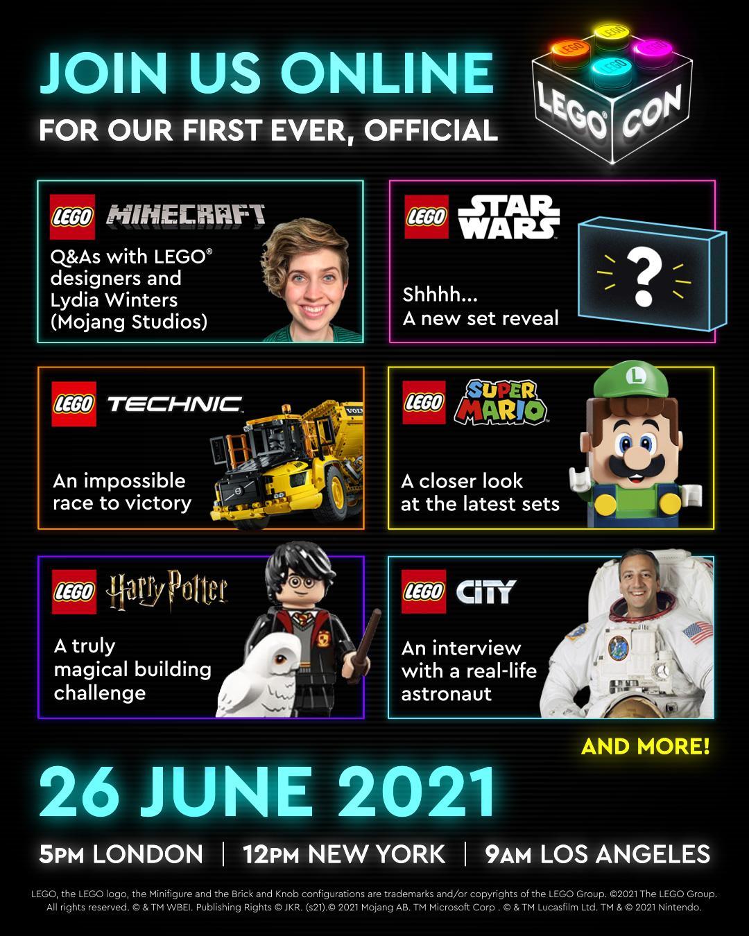 Sneak peek LEGO Con 2021