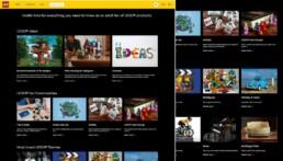 AFOL landingspagina enquête LEGO.com