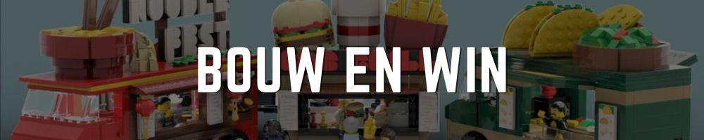 Bouw en win Winactie banner Bouwsteentjes - foodtruck