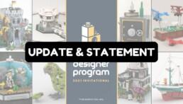 Bricklink Designer Program statement