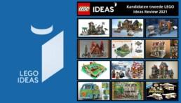 Kandidaten tweede LEGO Ideas review 2021