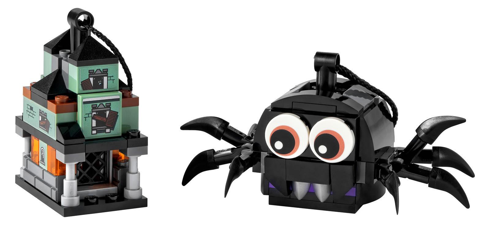 LEGO 40493 Spider & Haunted House