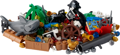 LEGO 40515 Pirates and Treasure VIP Add On Pack