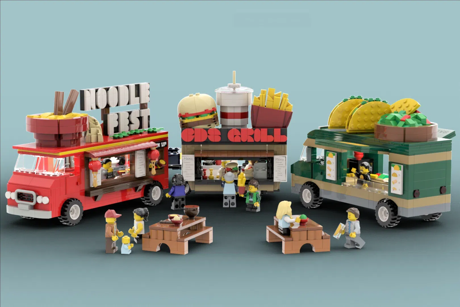 LEGO Ideas Foodtruck