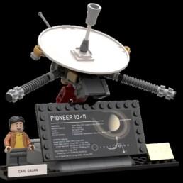 LEGO Ideas Outer Solar System Explorers