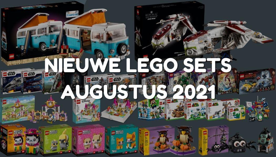 Nieuwe LEGO sets augustus 2021