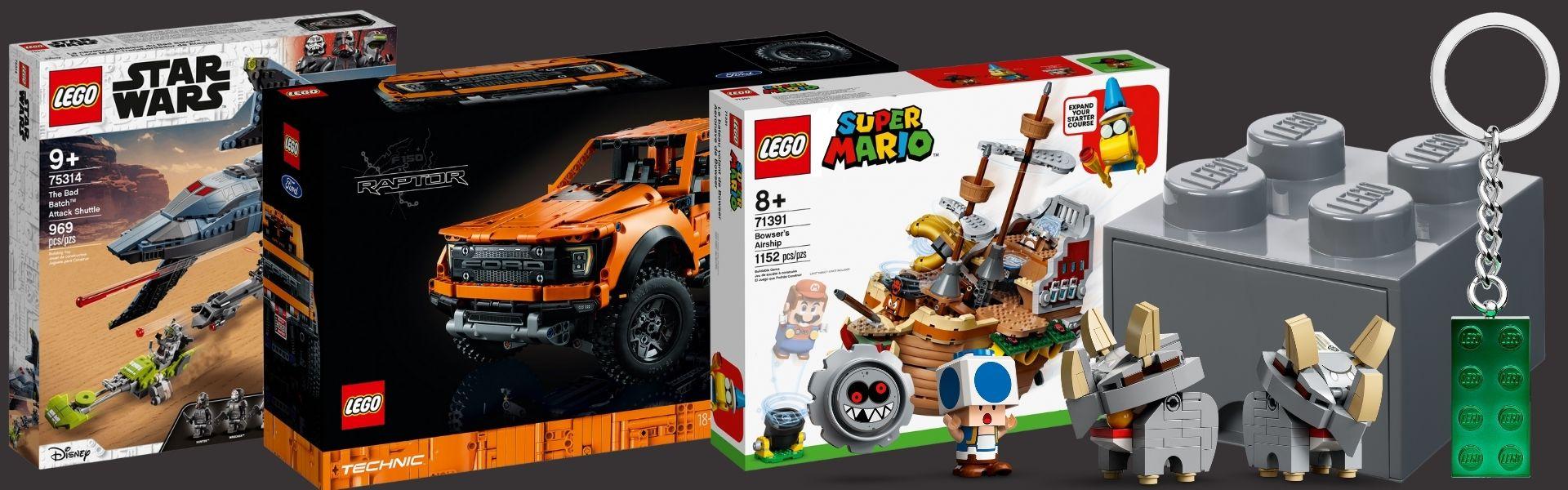Overige LEGO releases juli 2021