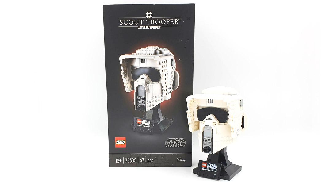 75304 Scout Trooper helmet