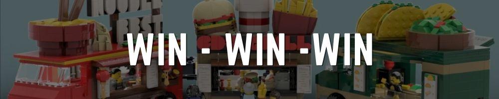 Winactie banner Bouwsteentjes - foodtruck