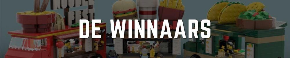 Winnaars Winactie banner Bouwsteentjes - foodtruck