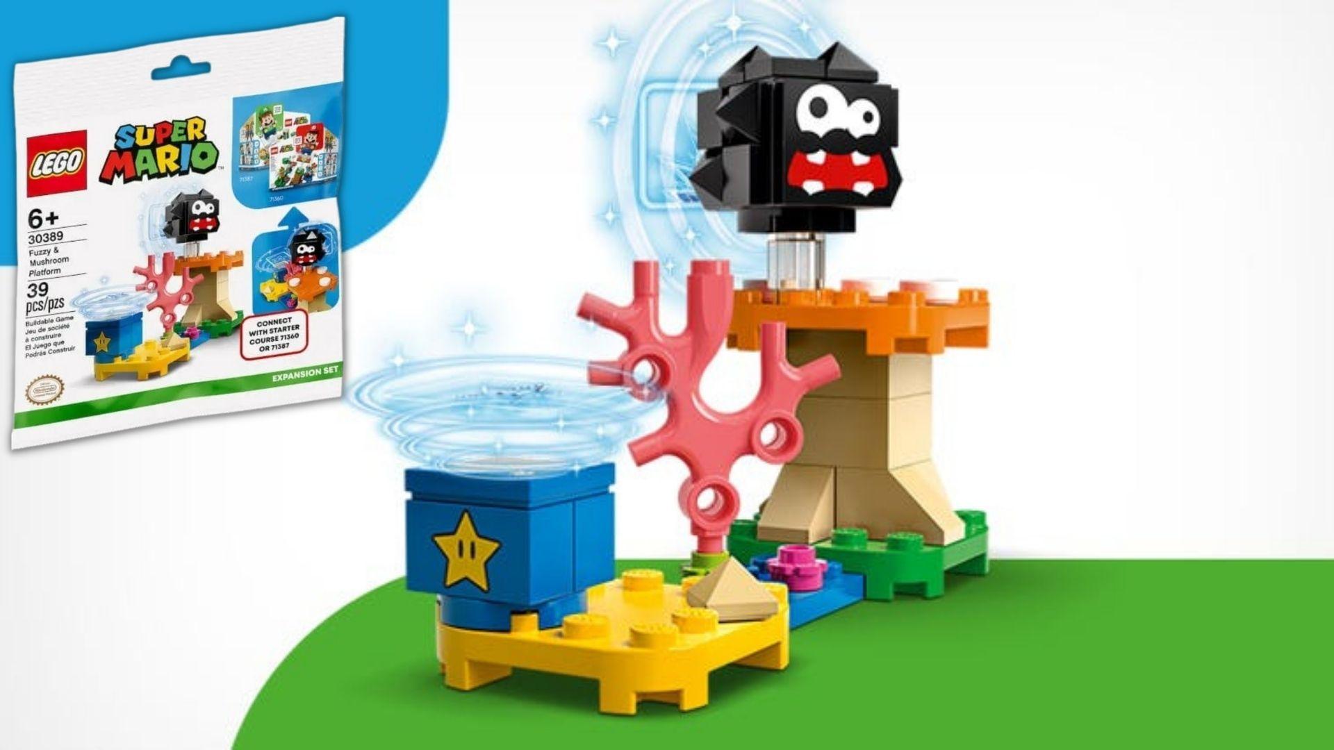 Gratis LEGO Fuzzy & Mushroom Platform Polybag