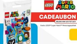 Gratis LEGO Super Mario Personagepakket