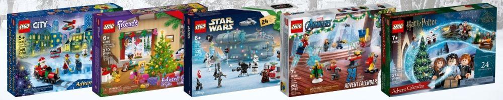 LEGO Advent Calendars 2021