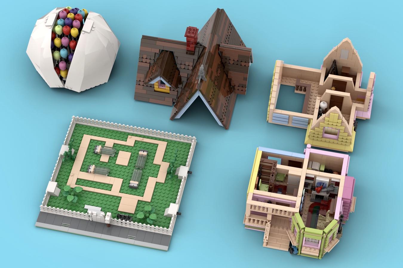 LEGO Ideas Carl's House
