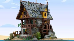 LEGO Ideas John's Medieval Watermill