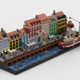 LEGO Ideas Nyhavn - Copenhagen, Denmark
