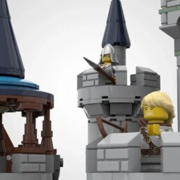 LEGO Ideas The Medieval Fortress