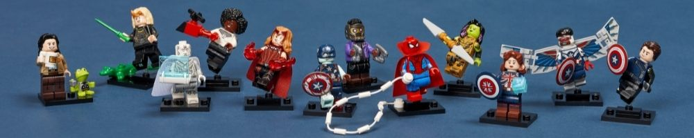 LEGO Marvel Studios Minifigures