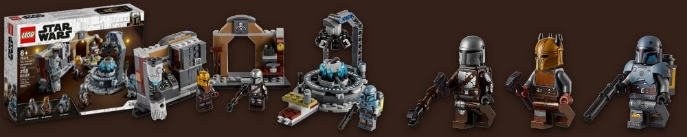 LEGO Star Wars The Armorer's Mandalorian Force