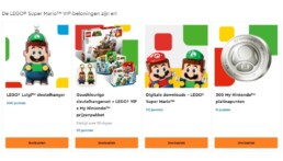 LEGO Super Mario VIP Rewards