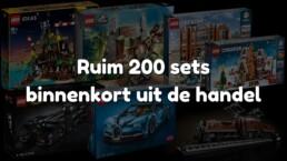 LEGO sets binnenkort uit de handel (2021)