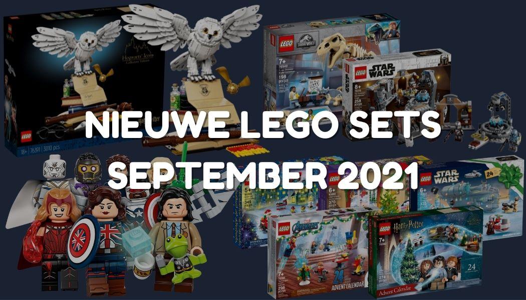 Nieuwe LEGO sets september 2021