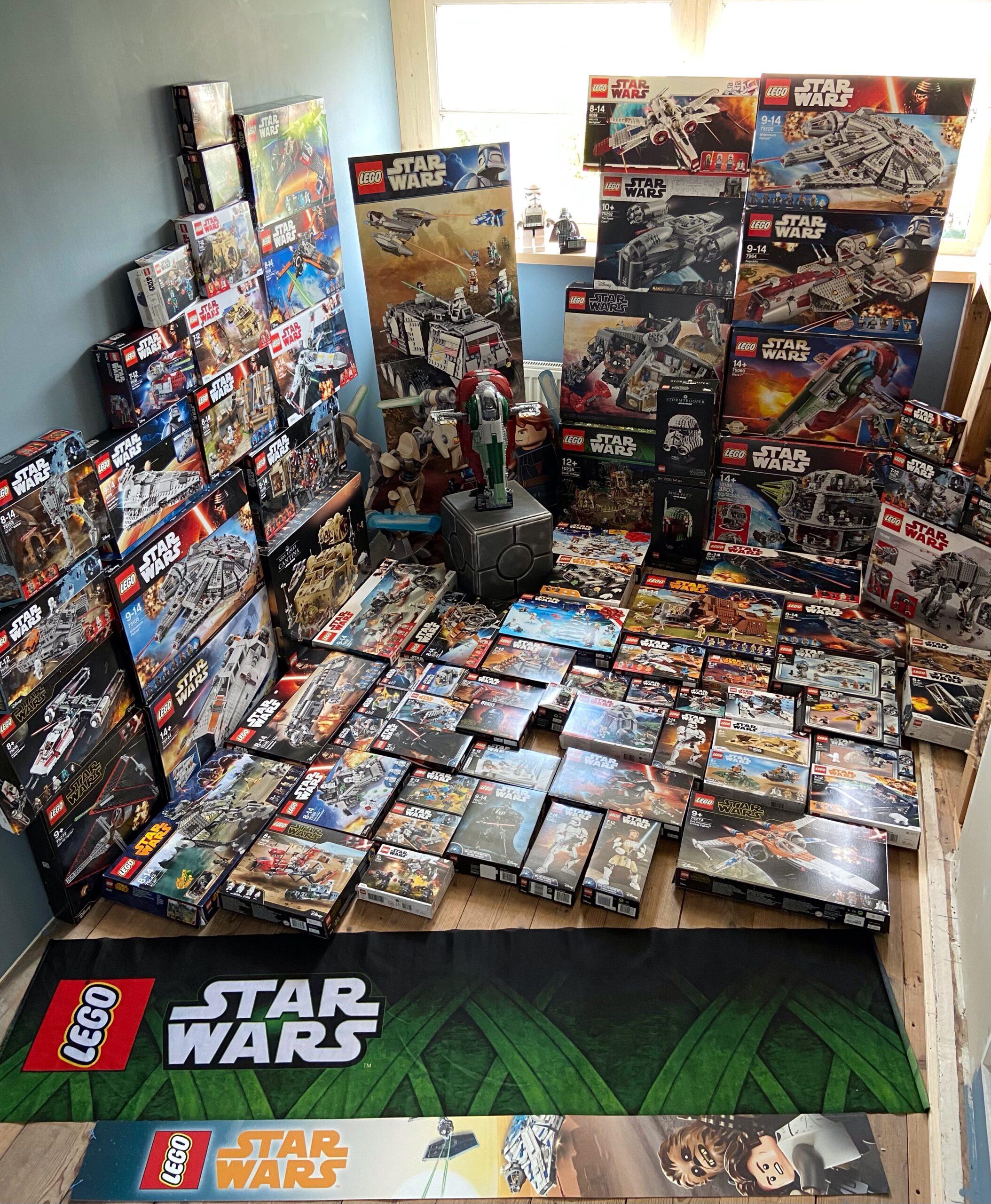 LEGO Star Wars verzamelaars met Robbin Luca De Haan