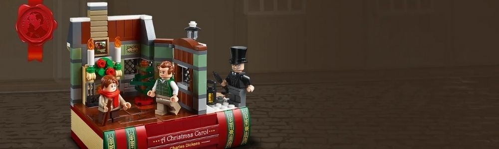 Gratis LEGO Charles Dickens Tribute