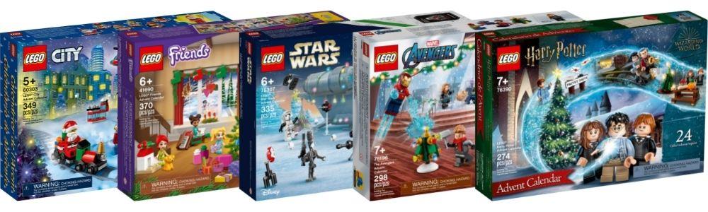 LEGO Advent kalenders 2021