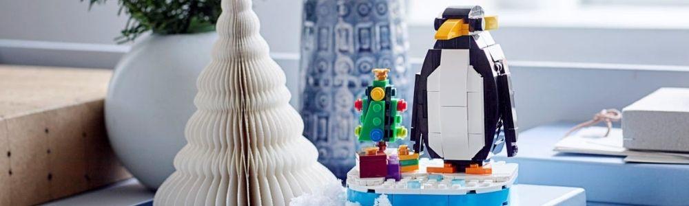 LEGO Christmas Penguin