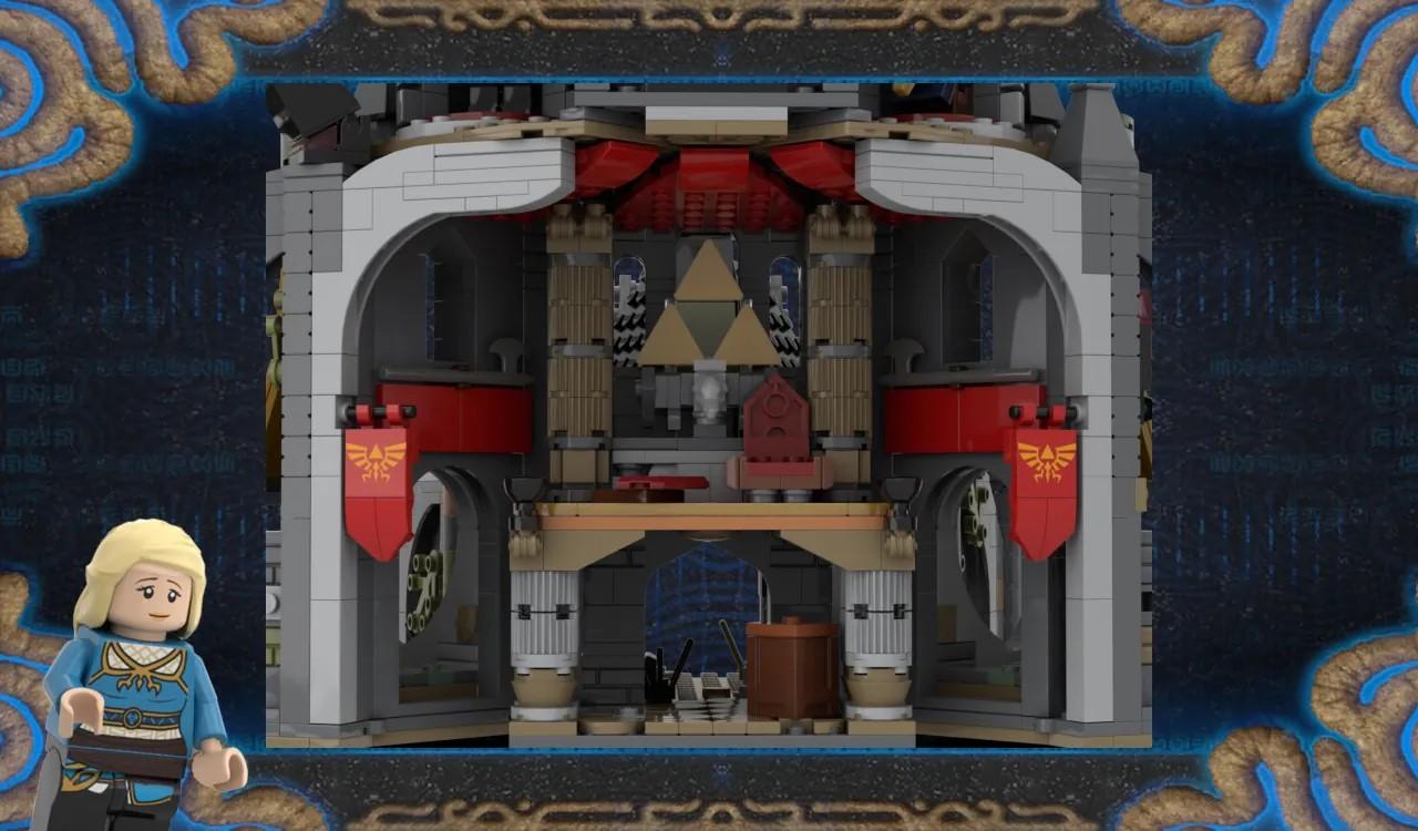 LEGO Ideas Hyrule Castle 30th Anniversary