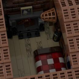 LEGO Ideas Log Cabin