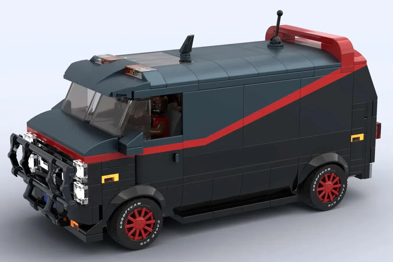 LEGO Ideas The A-team Van and Crew