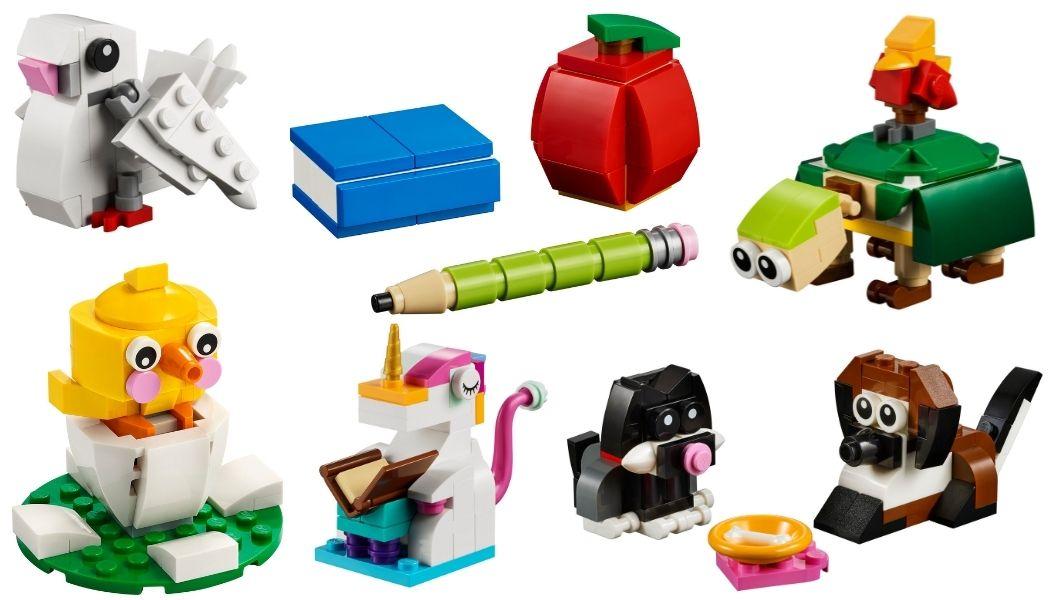 LEGO Monthly Mini Builds verkrijgbaar via LEGO Shop@Home