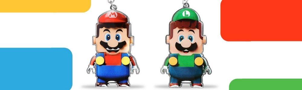 LEGO Super Mario sleutelhangers