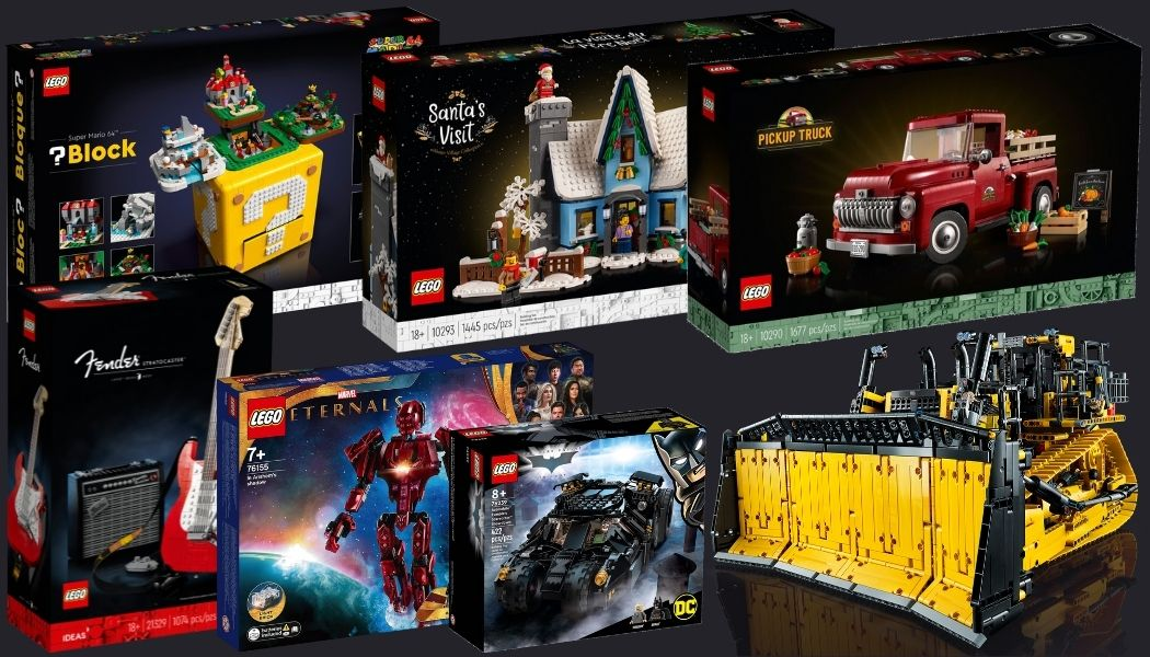 Nieuwe LEGO sets oktober 2021
