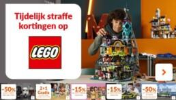 Korting op LEGO bij Fun