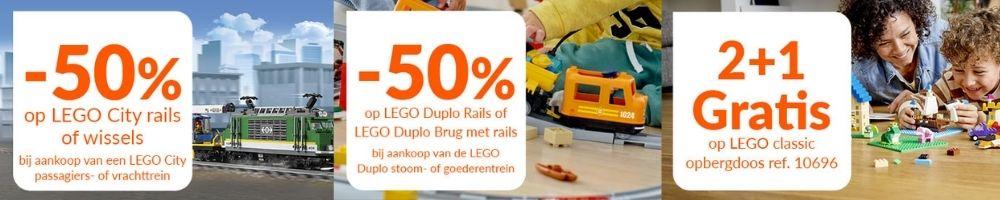 Korting op LEGO sets