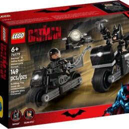 LEGO DC 76179 Batman & Selina Kyle Motorcycle Pursuit