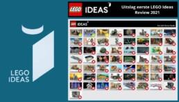 Uitslag eerste LEGO Ideas review 2021